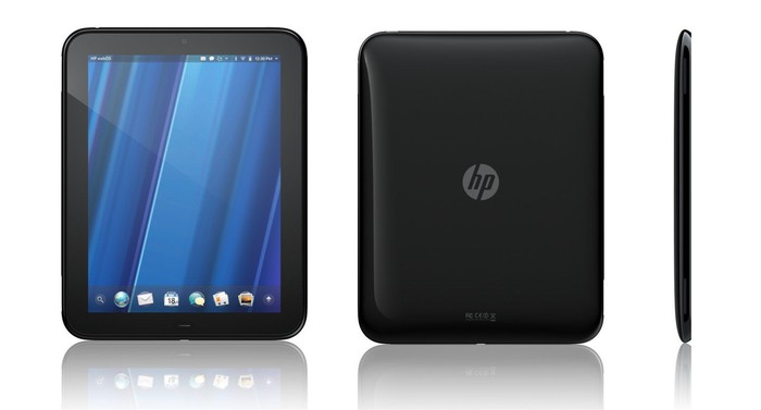 HP's TouchPad.