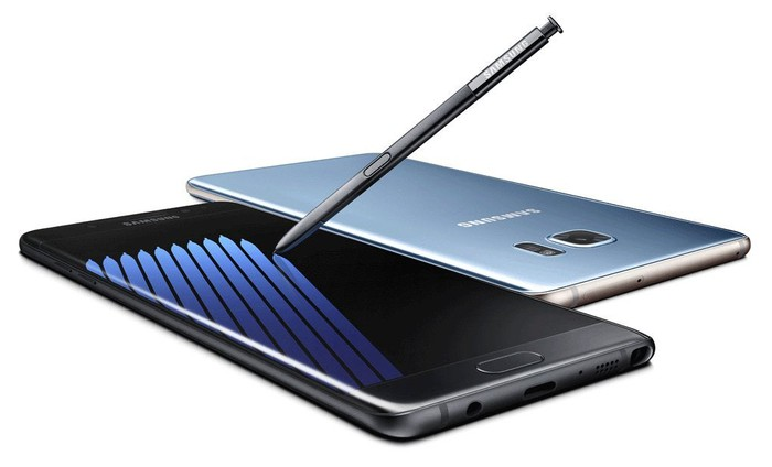 The Galaxy Note 7.