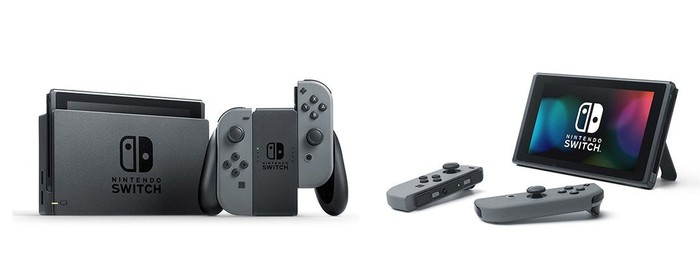 Nintendo's Switch console.