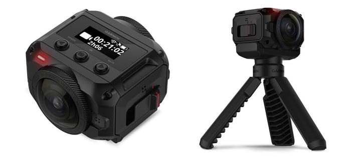 Garmin's VIRB 360 camera.