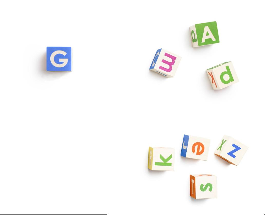 Alphabet logo banner.