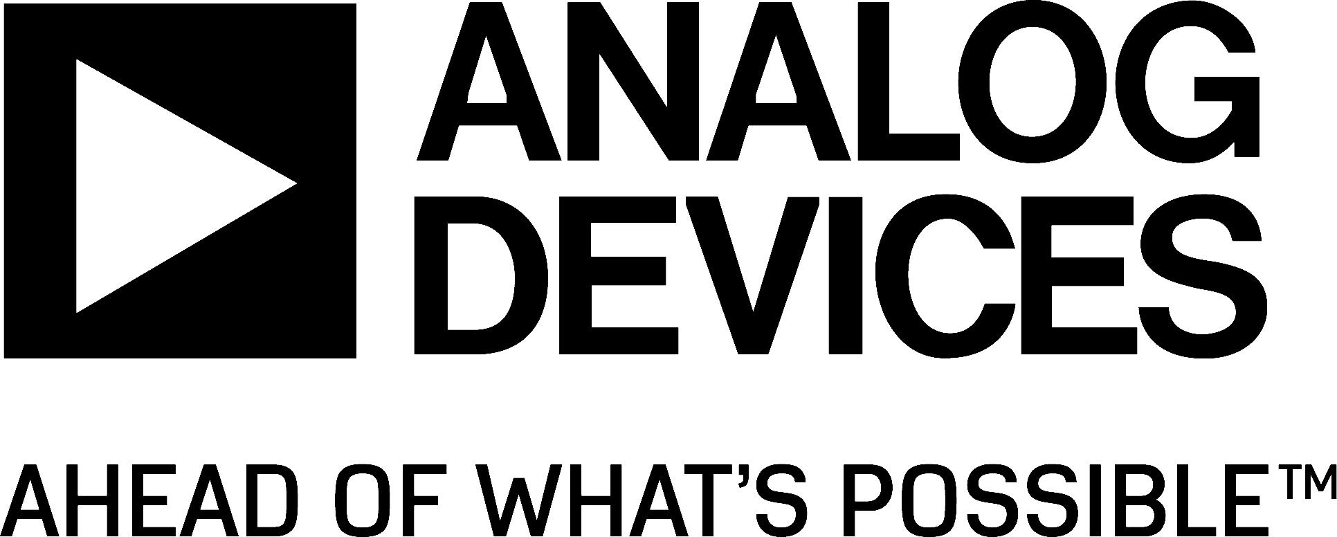 Image of Analog Devices' logo.