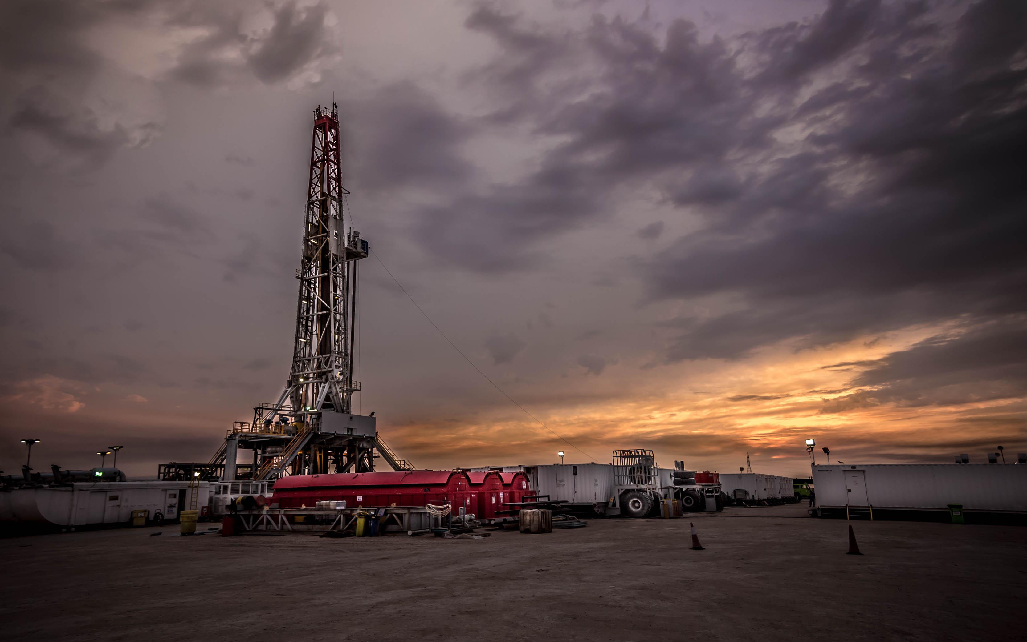 drilling rig 6