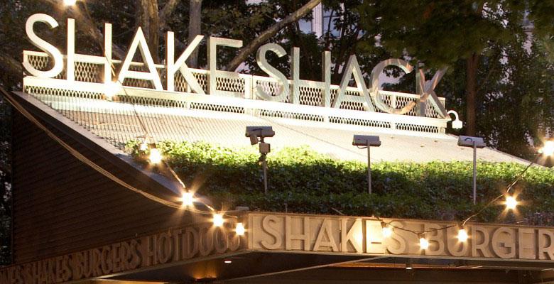 Central Park, NYC Shake Shack.