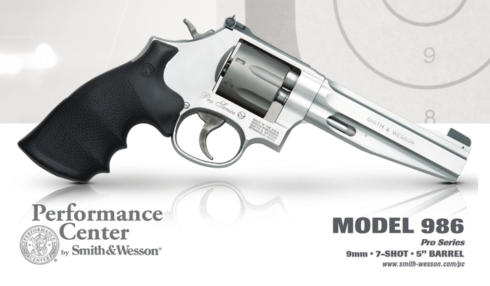 Smith and Wesson gun.