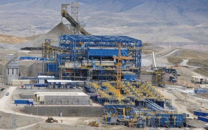 McEwen mining facility