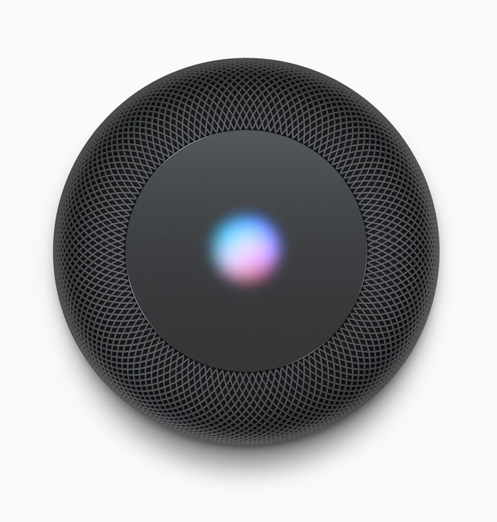 Top view of HomePod