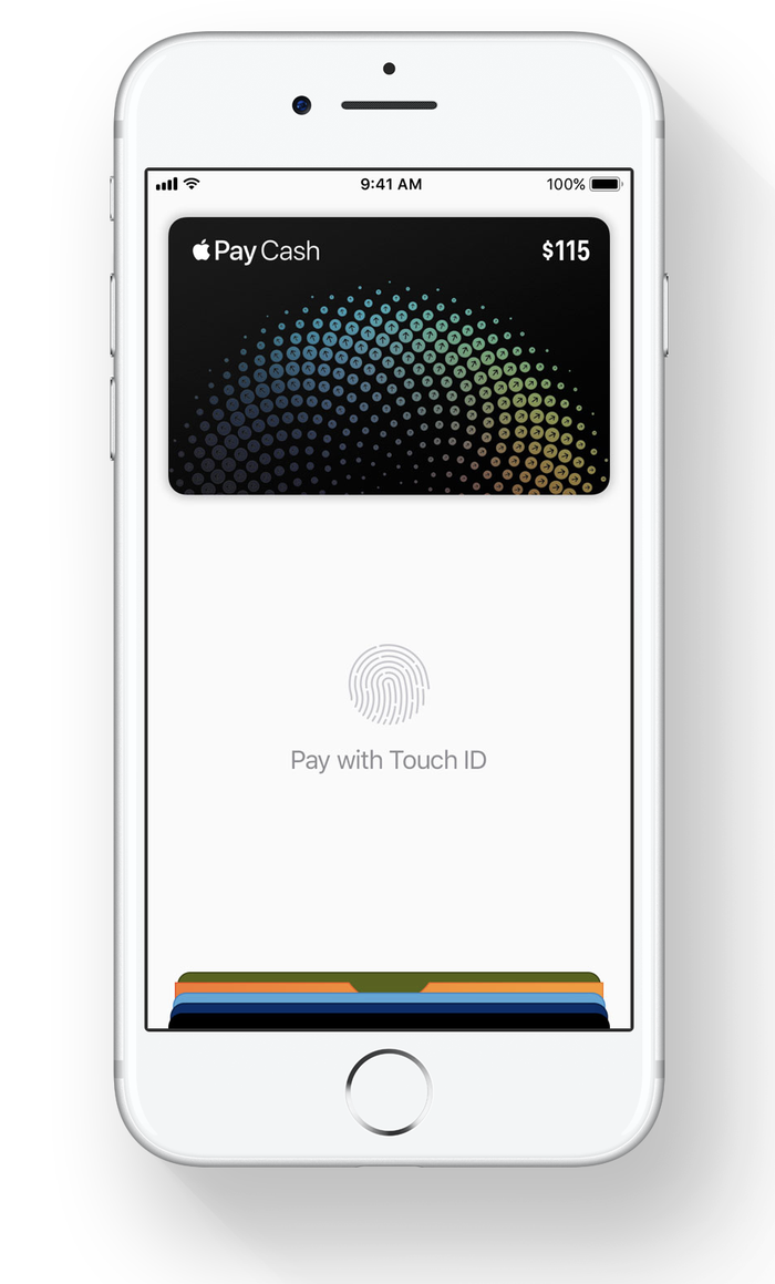 Illustration of Apple Pay Cash card