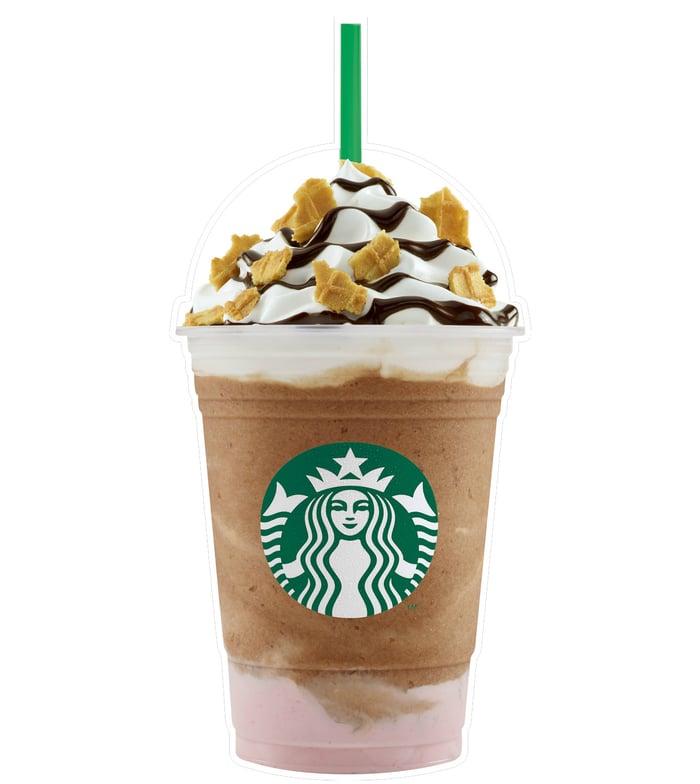 Starbucks' Banana Split Frappuccino