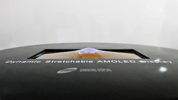 Samsung stretchable OLED display