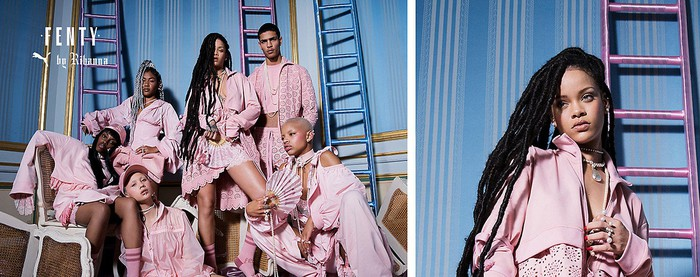 Rihanna's Fenty brand.