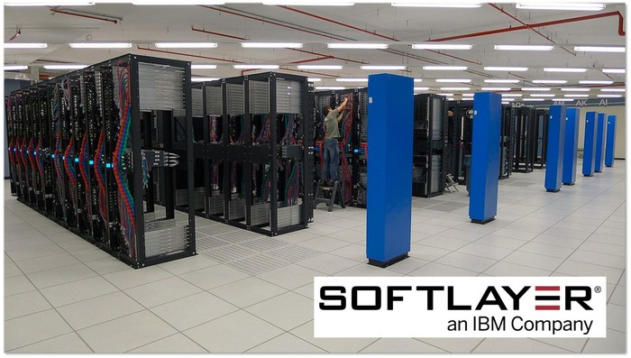 An IBM SoftLayer data center.
