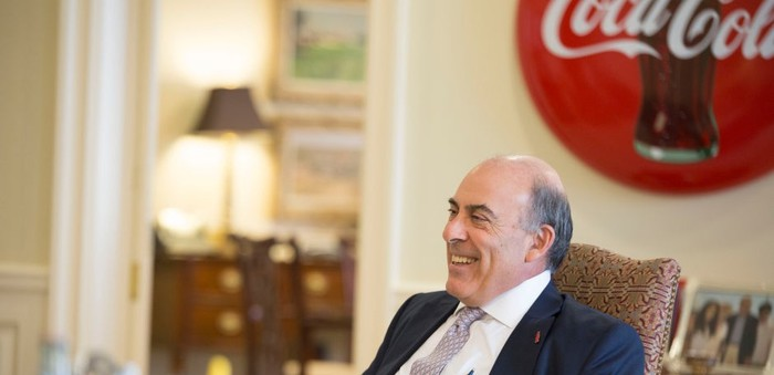Coca-Cola chairman Muhtar Kent