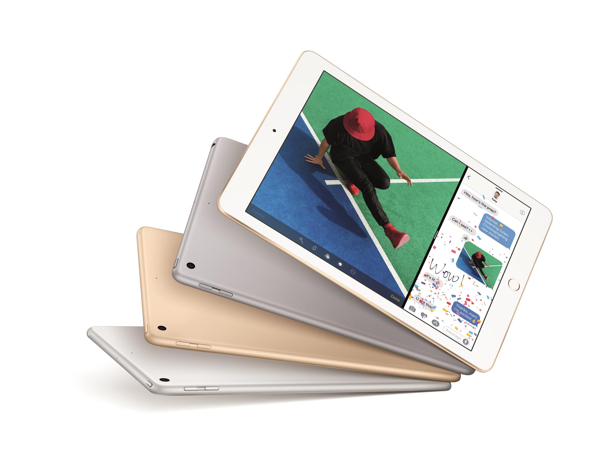 Apple's iPad lineup.