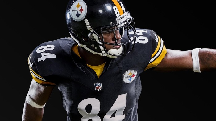 Pittsburgh Steelers player in Madden NFL 18.