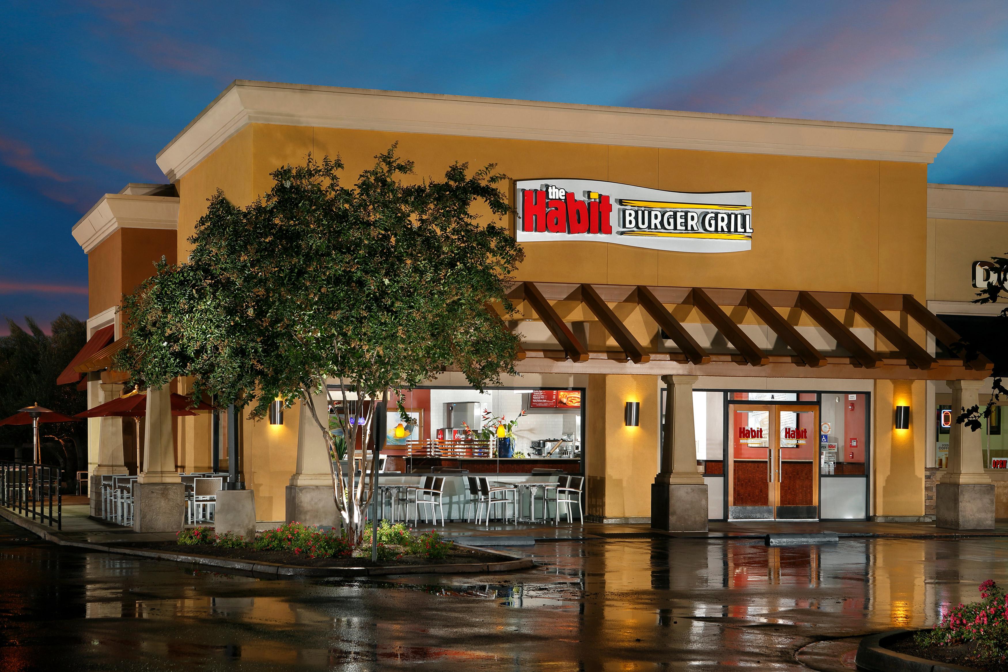 A Habit Burger Grill exterior shot.