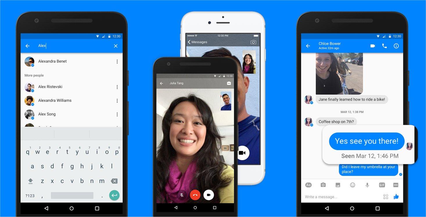 Facebook's Messenger app.