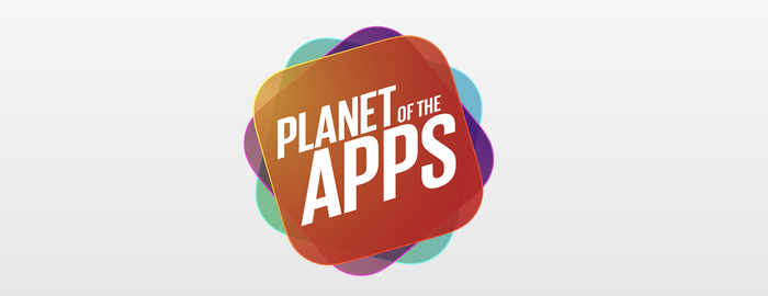"""Logo for """"Planet of the Apps"""""""