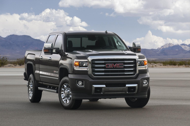 GMC truck.
