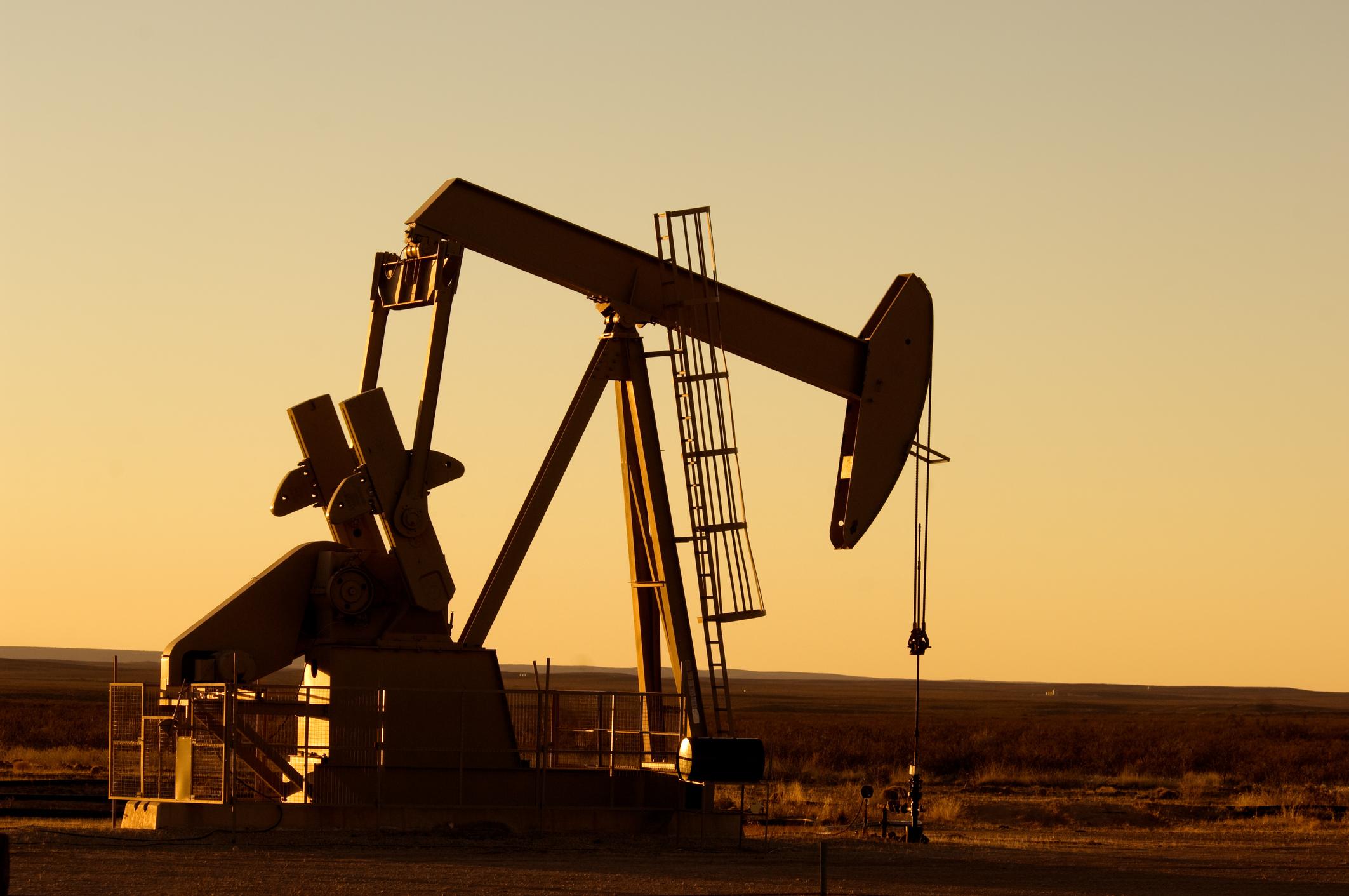 An oil pump in Texas.
