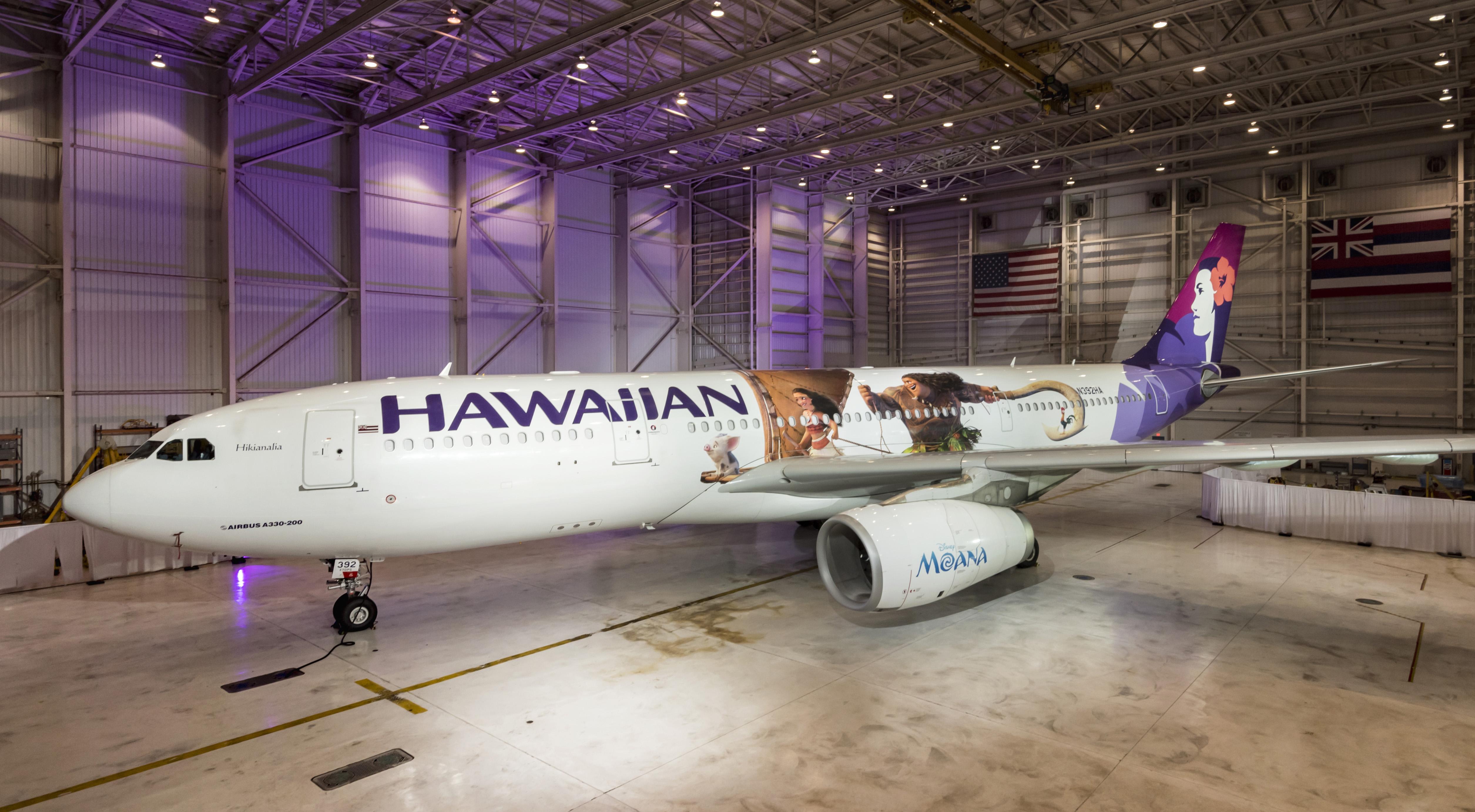Hawaiian Airlines aircraft.
