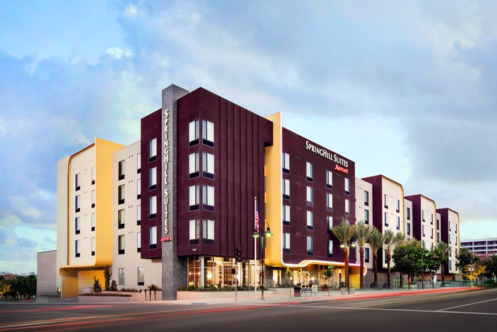 SpringHill Suites in Burbank, California.