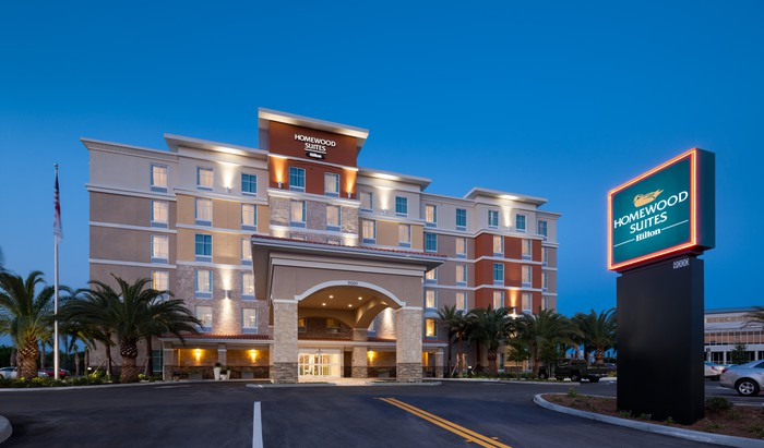 Homewood Suites in Cape Canaveral, Florida.