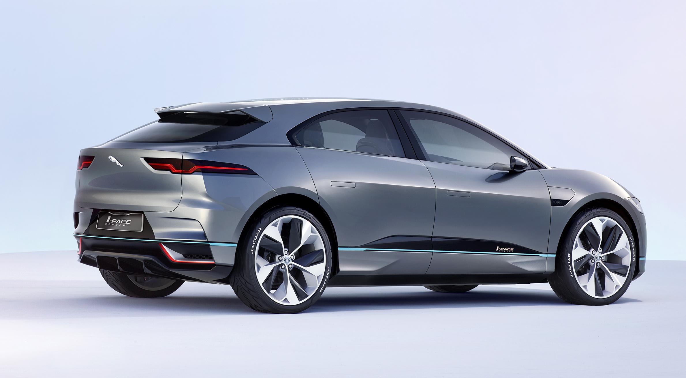 The Jaguar I-PACE Concept.