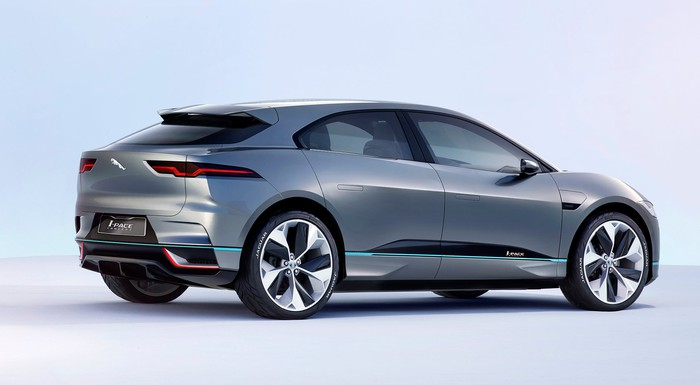 The Jaguar I-PACE Concept.