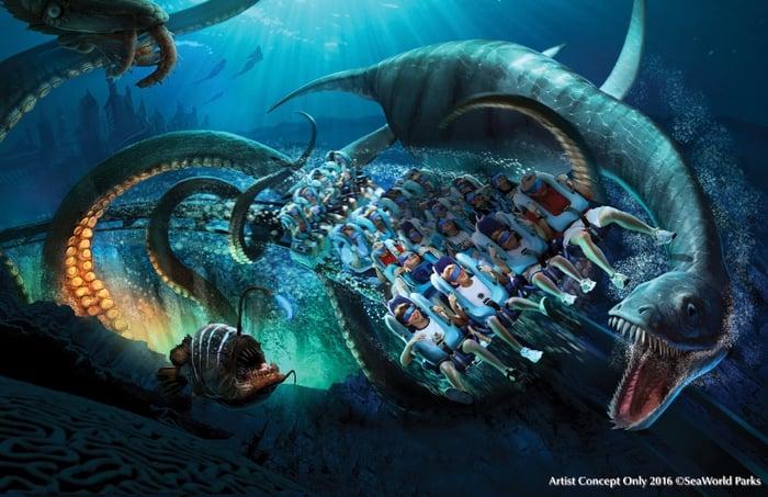 Concept art for Kraken Unleashed.