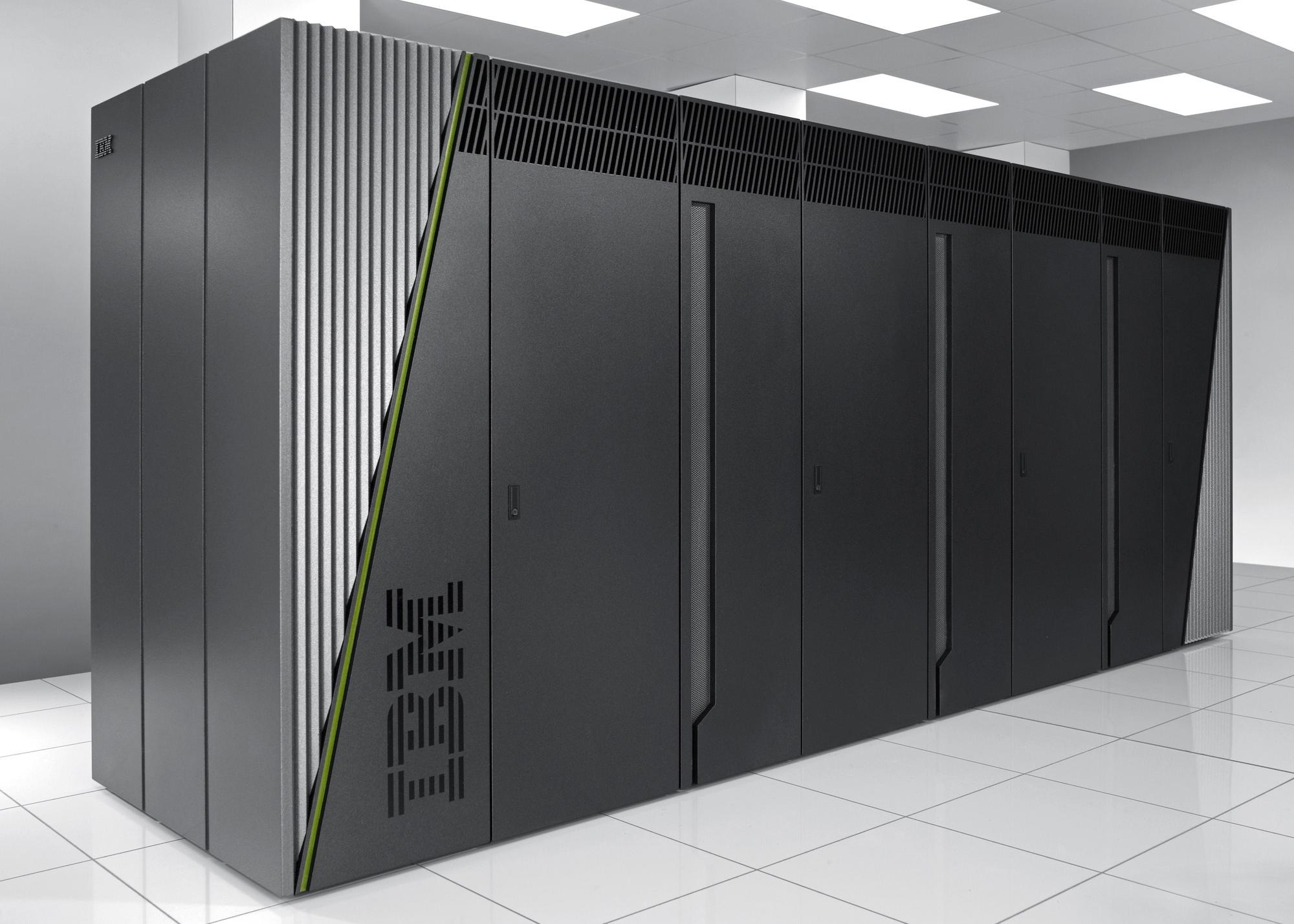 IBM's Sequoia supercomputer.