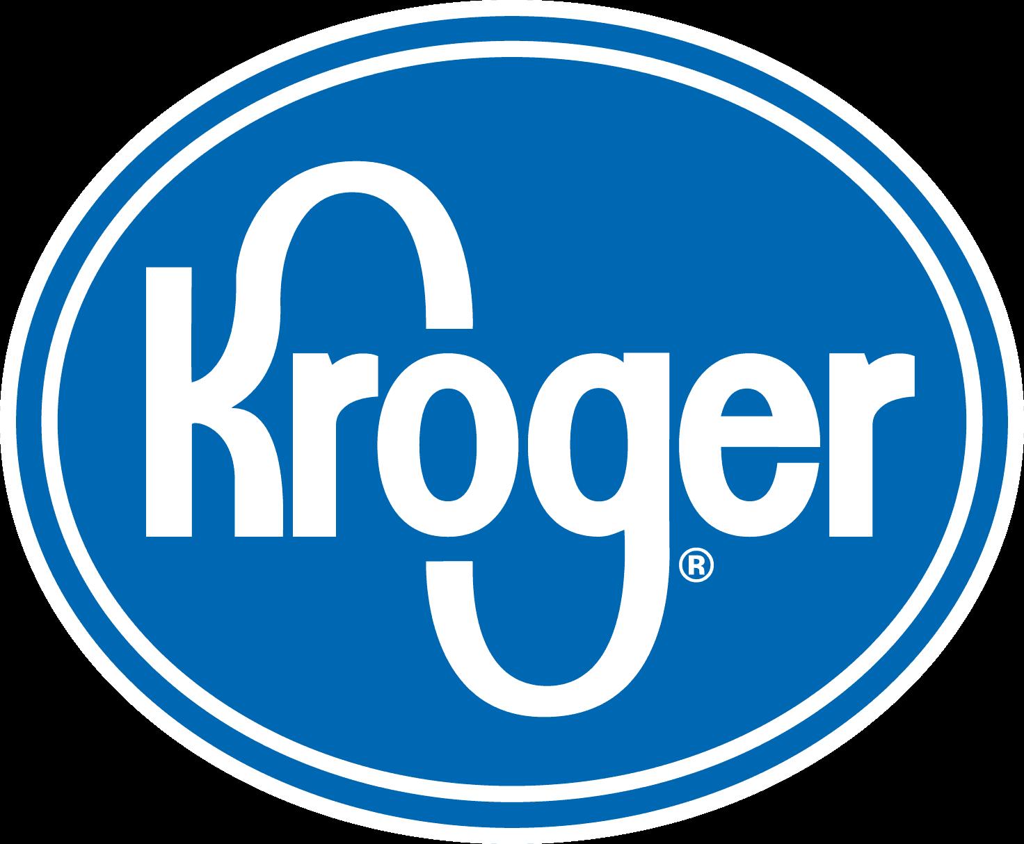 Kroger logo.
