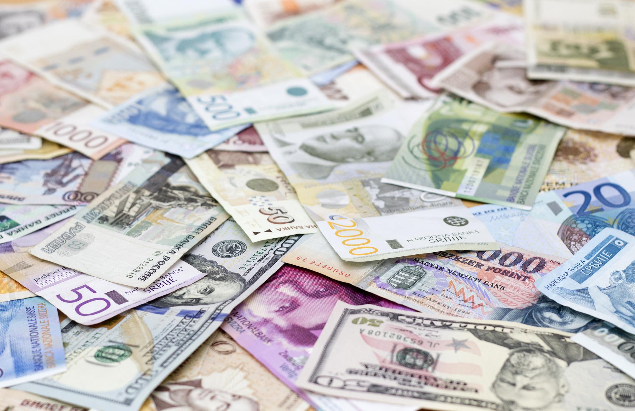 Foreign cash.