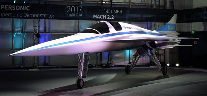 Boom Supersonic's XB-1 demonstrator