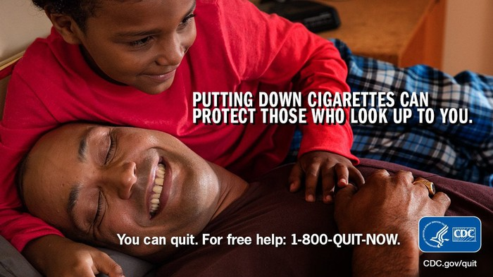 CDC quit smoking campaign.