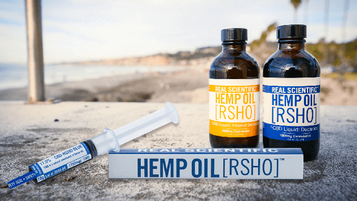 Real Scientific Hemp Oil products
