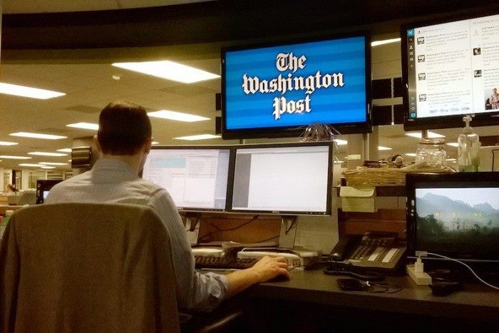 The Washington Post newsroom