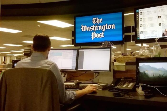 The Washington Post newsroom