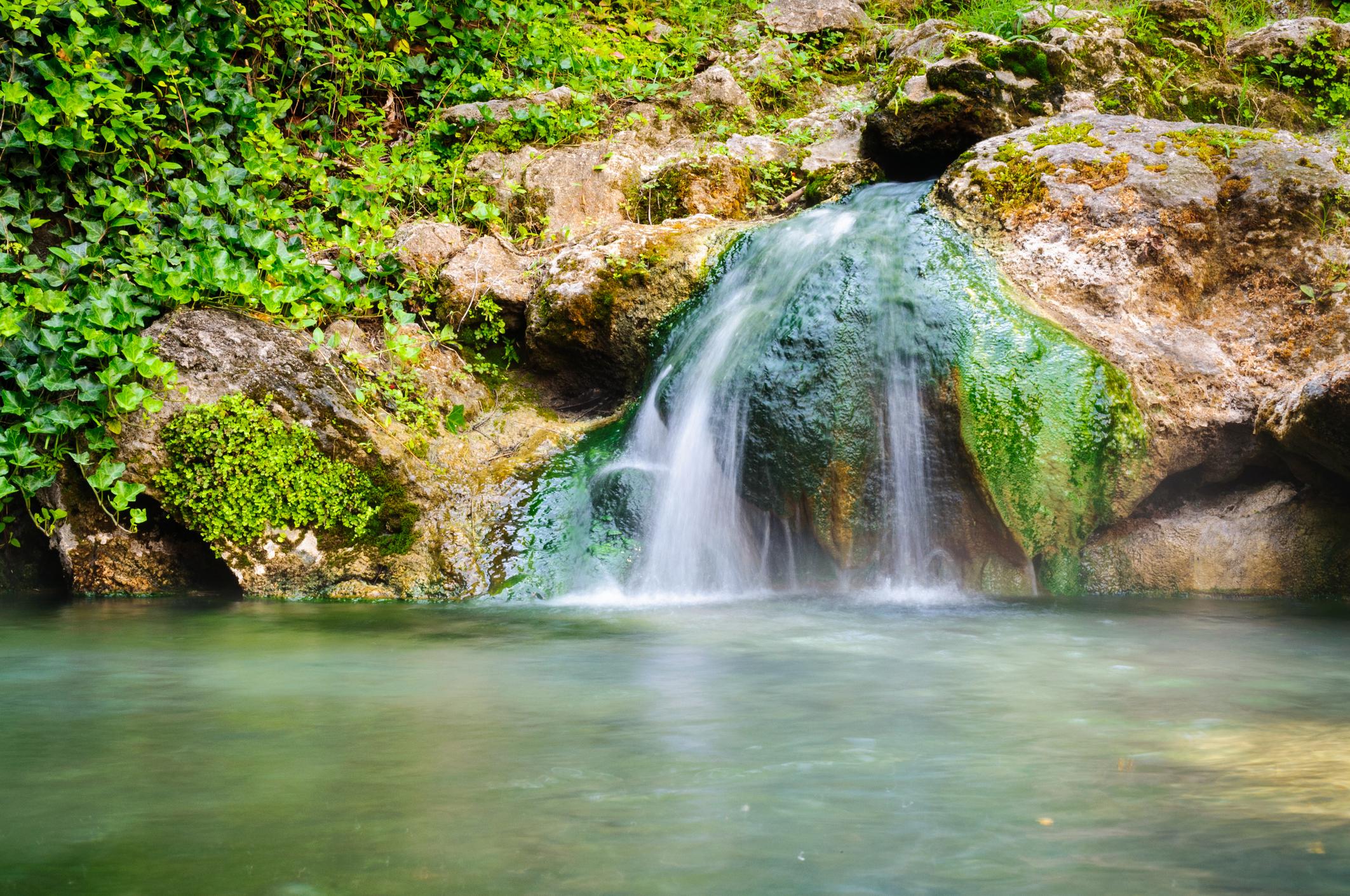 Hot Springs National Park.