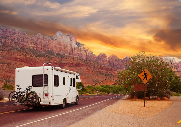 Recreation vehicle traveling