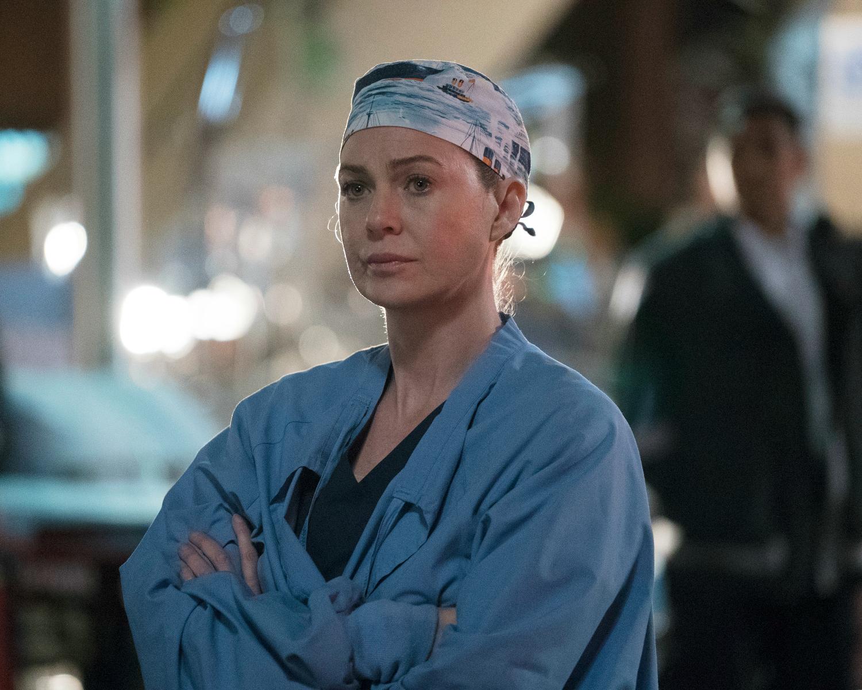 Ellen Pompeo from Grey's Anatomy