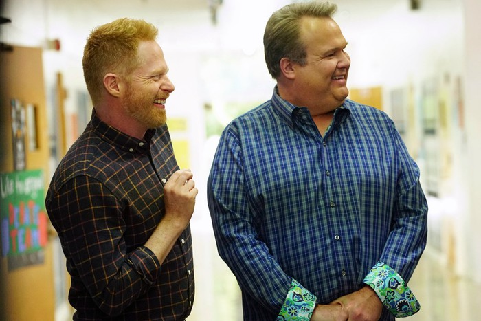 Jesse Tyler Ferguson and Eric Stonestreet from Modern Family