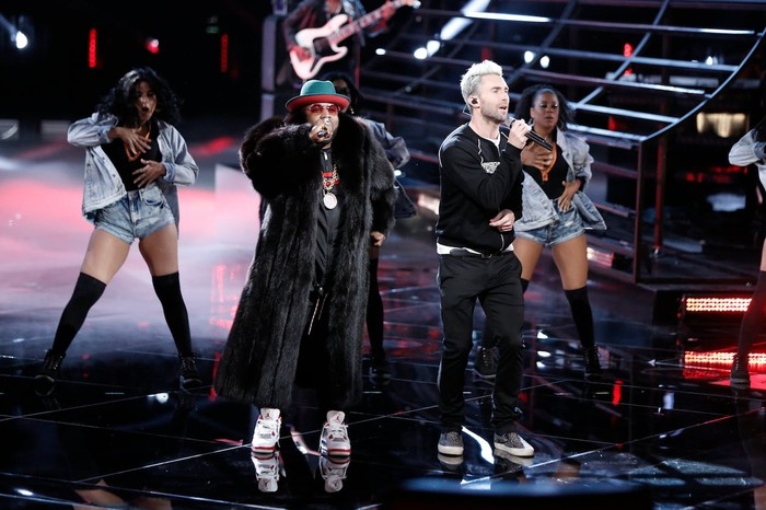 Adam Levine and Big Boi perform on The Voice