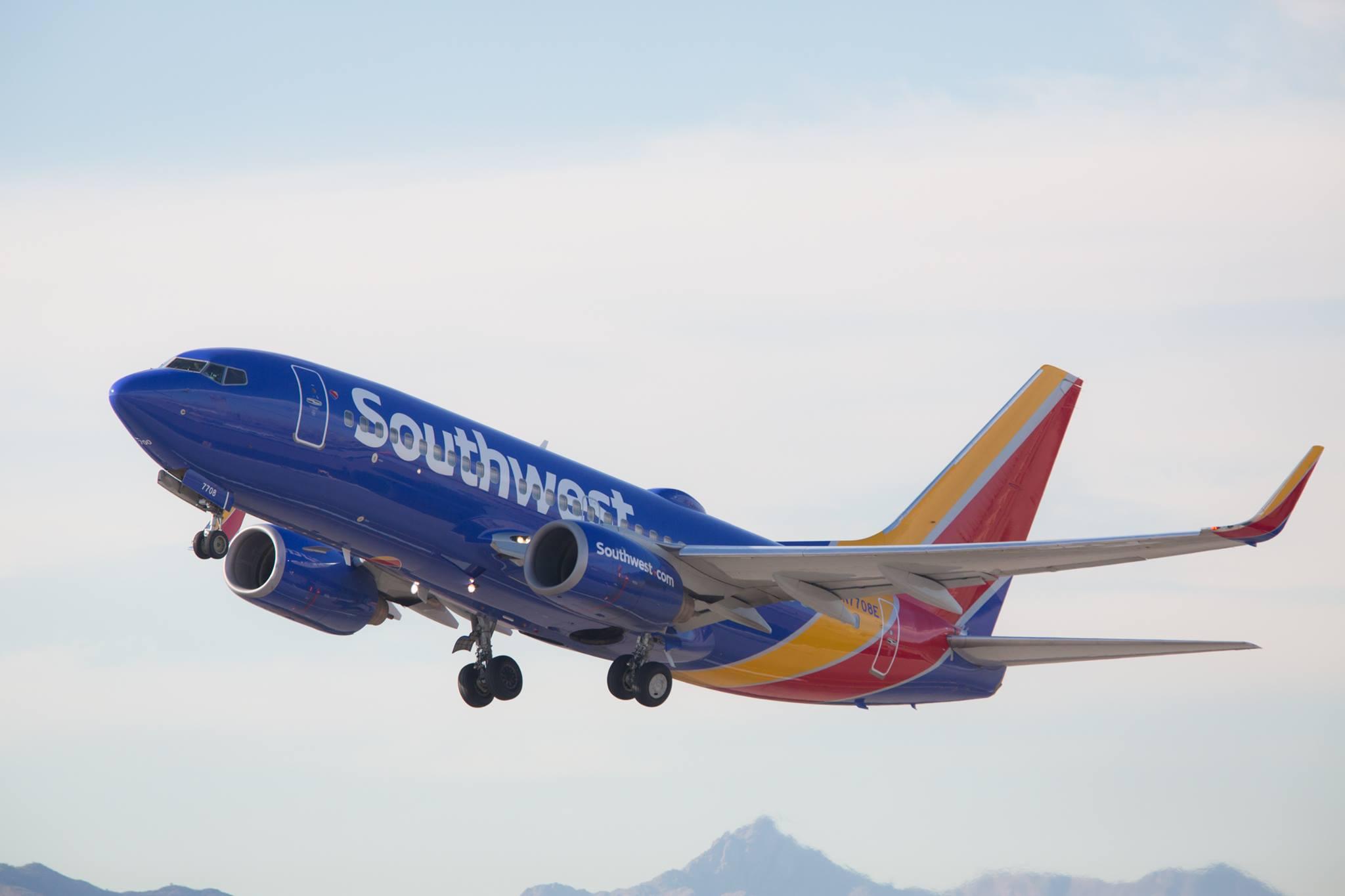 Southwest airplane