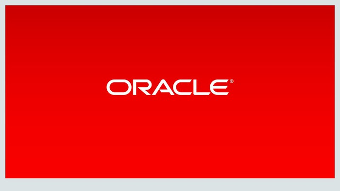 The Oracle logo.