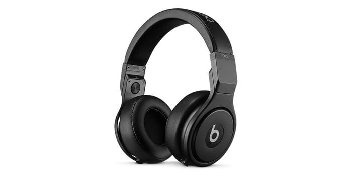 A set of Beats headphones.