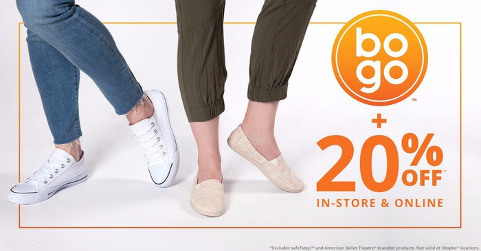 An ad for a discount at Payless.