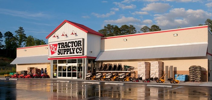 Photo of a Tractor Supply retail store.