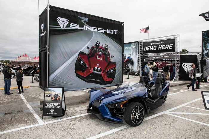 Polaris Slingshot model.