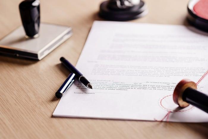 Estate-planning document